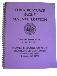 """Elder Resource Guide"" - The purple book. Click to download PDF."